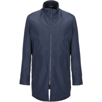 《セール開催中》YOON メンズ ライトコート ダークブルー 54 ポリエステル 100%