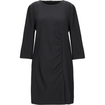 《セール開催中》ANNIE P. レディース ミニワンピース&ドレス ブラック 40 ポリエステル 95% / ポリウレタン 5%