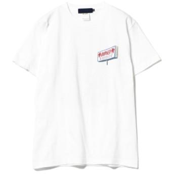 BEAMS T / KOJI YAMAGUCHI TRAVELLING Tee メンズ Tシャツ WHITE M