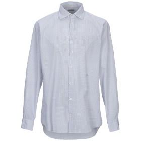 《期間限定セール開催中!》MASSIMO ALBA メンズ シャツ ダークブルー XS コットン 100%