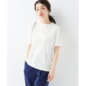 JOURNAL STANDARD 【NEU】SILKコットンクルーネックTシャツ ホワイト フリー