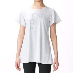 【オンワード】 Chacott(チャコット) ワンピースTシャツ パールグレー L レディース