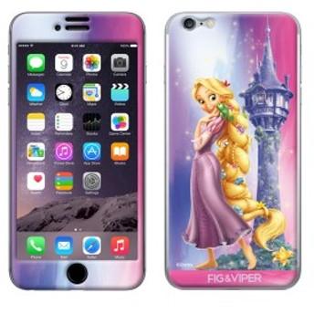 iPhone6s iPhone6 シールケース ディズニー キャラクター iPhoneシール FIG&VIPER フィグアンドバイパー Aurora Rapunzel 【Gizm】