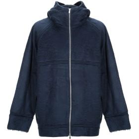 《期間限定 セール開催中》ROBERTO COLLINA メンズ スウェットシャツ ダークブルー 48 アクリル 55% / コットン 39% / ナイロン 6%