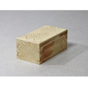 矢羽 矢羽根 小物入れ 16×29.5×高さ12cm(長方形) 木箱 蓋つき 矢羽柄 収納ボックス おしゃれ 木製