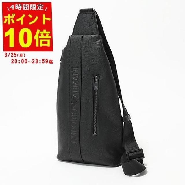 EMPORIO ARMANI エンポリオアルマーニ Y4O179 YG89J ボディバッグ ショルダーバッグ 81072-BLACK  メンズ