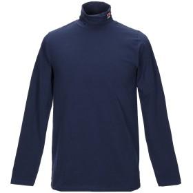 《期間限定 セール開催中》FILA メンズ T シャツ ダークブルー 46 コットン 95% / ポリウレタン 5%