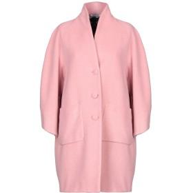 《セール開催中》YOON レディース コート ピンク 40 ポリエステル 50% / ウール 40% / カシミヤ 5% / 指定外繊維 5%