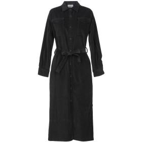 《セール開催中》VICOLO レディース 7分丈ワンピース・ドレス ブラック S コットン 98% / ポリウレタン 2%
