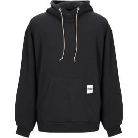 《期間限定セール開催中!》MЯ.COMPLETELY メンズ スウェットシャツ ブラック S コットン 100%