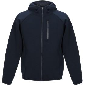 《期間限定セール開催中!》INVICTA メンズ スウェットシャツ ダークブルー S ポリエステル 65% / レーヨン 30% / ポリウレタン 5%