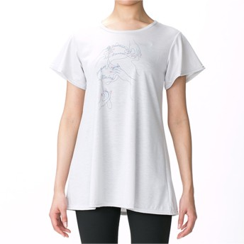 【オンワード】 Chacott(チャコット) ワンピースTシャツ パールグレー M レディース