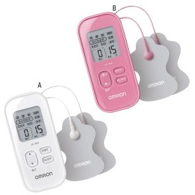 オムロン 低周波治療器 ピンク (HV-F021-PK) 単品