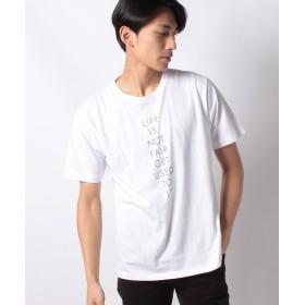 ウィゴー WEGO/シンプルロゴTシャツ メンズ ホワイト S 【WEGO】