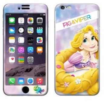 iPhone6s iPhone6 シールケース ディズニー キャラクター iPhoneシール FIG&VIPER フィグアンドバイパー Bubbling Rapunzel 【Gizm】