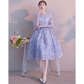 パーティードレス 結婚式 二次会 ワンピース 結婚式 お呼ばれ ドレス 20代 30代 40代 結婚式 お呼ばれドレス 総レース ドレス ワンピース