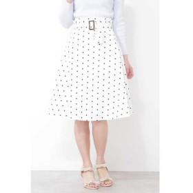 PROPORTION BODY DRESSING ドットレディーフレアスカート