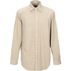 《期間限定セール開催中!》MASSIMO ALBA メンズ シャツ ベージュ L コットン 100%