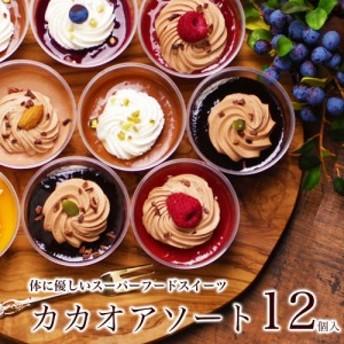 カカオアソート12個入 本州 送料無料 残暑見舞い 誕生日プレゼント ギフト スイーツ お菓子 セット チョコ 詰め合わせ