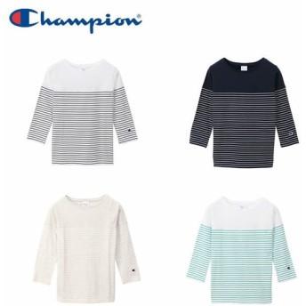 Champion  3/4スリーブTシャツ CW-P402