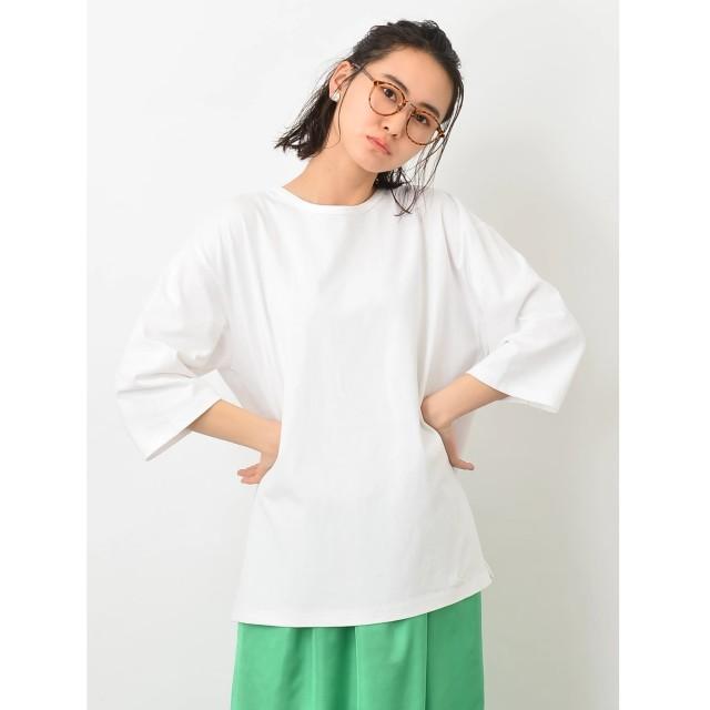 【オンワード】 koe(コエ) BIGサイドスリットTシャツ White F レディース 【送料無料】