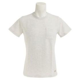 エルケクス(ELKEX) 【多少の汚れ等訳あり大奉仕】ポケット付 Tシャツ 863EK7NA4787WHT (Men's)