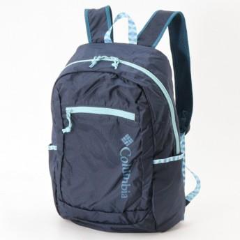 バッグ カバン 鞄 レディース リュック ユニセックス パッカブルリュック 「ネイビー」