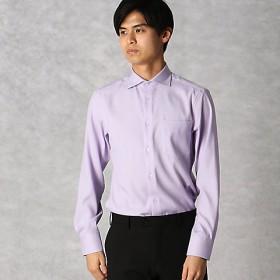 【SALE(三越)】<COMME CA MEN > 【形態安定】クールマックス ロイヤルオックス ドレスシャツ(0708HL08) ライラック 【三越・伊勢丹/公式】