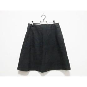【中古】 トゥービーシック TO BE CHIC スカート サイズ46 XL レディース 黒