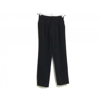 【中古】 ザ ヴァージニア The Virgnia パンツ サイズ36 S レディース 黒