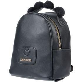 《期間限定 セール開催中》LOVE MOSCHINO レディース バックパック&ヒップバッグ ブラック 紡績繊維 / 指定外繊維