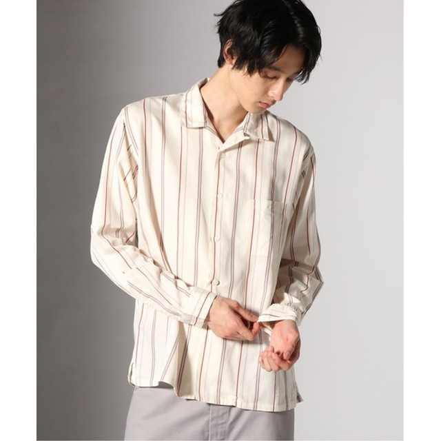JOURNAL STANDARD Rejimental ST オープンカラーシャツ ナチュラル S