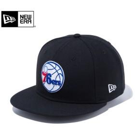 【メーカー取次】 NEW ERA ニューエラ 9FIFTY フィラデルフィア・セブンティシクサーズ ブラック 12018943 キャップ NBA メンズ レディース 帽子 ブランド