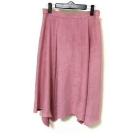 【中古】 ローズティアラ Rose Tiara ロングスカート レディース ピンク
