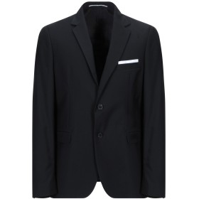 《期間限定セール開催中!》EXIBIT メンズ テーラードジャケット ブラック 50 ポリエステル 65% / レーヨン 35%