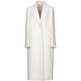 《セール開催中》TAGLIATORE 02-05 レディース コート ホワイト 44 毛(アンゴラ) 60% / バージンウール 40%
