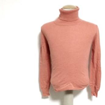 【中古】 ダブルスタンダードクロージング 長袖セーター サイズ36 S レディース オレンジ タートルネック