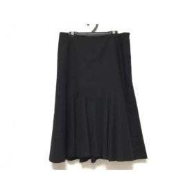 【中古】 ラルフローレン RalphLauren スカート サイズ9 M レディース 黒
