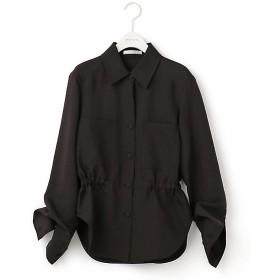 【SALE(伊勢丹)】<BEIGE,/ベイジ> EVIE / シャツジャケット(JKCWKM0332) クロ【三越・伊勢丹/公式】