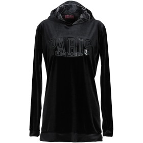 《期間限定セール開催中!》GABARDINE レディース スウェットシャツ ブラック S ポリエステル 80% / ポリウレタン 10% / コットン 10%