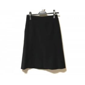 【中古】 ニジュウサンク 23区 スカート サイズ36 S レディース 黒 vingt-trois arrondissements
