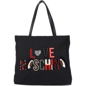 《期間限定 セール開催中》LOVE MOSCHINO レディース ハンドバッグ ブラック 紡績繊維 / ポリウレタン