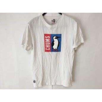 【中古】 チャムス CHUMS 半袖Tシャツ サイズS メンズ 白 マルチ