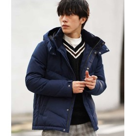 【50%OFF】 エムケーオム ダウンブルゾン(プルーフクロス) メンズ ブルー 46 【MK homme】 【セール開催中】