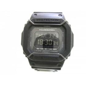 【中古】 カシオ CASIO 腕時計 G-SHOCK DW-D5600P メンズ 黒