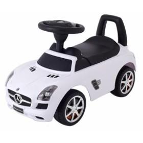 乗用メルセデスベンツ SLS AMG  ホワイト 乗用玩具 足けり車 子供用乗り物