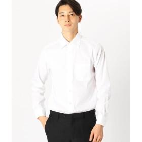 COMME CA ISM / コムサイズム 《イージーケアー・抗菌防臭加工》ブロード セミワイドカラー 長袖シャツ