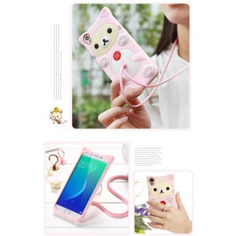 Cartoon Silicone Ring shell IPhone 6/6S/6 Plus/6S Plus/5/5S/SE