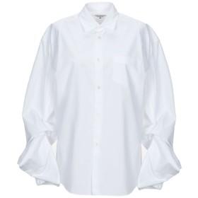 《セール開催中》JUNYA WATANABE レディース シャツ ホワイト XS ポリエステル 65% / コットン 35%