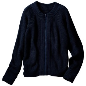 40%OFF【レディース大きいサイズ】 ニットジャケット ■カラー:ネイビー ■サイズ:6L,5L,3L,LL,4L